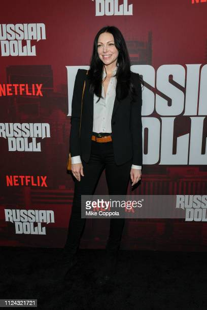 Actress Laura Prepon attends Netflix's Russian Doll Season 1 Premiere at Metrograph on January 23 2019 in New York City
