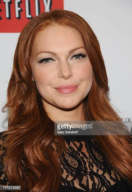 Actress Laura Prepon attends 'Orange Is The New Black' New York Premiere at The New York Botanical Garden on June 25 2013 in New York City
