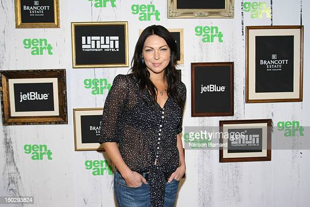 """Actress Laura Prepon attends the 17th Annual GenArt Film Festival Closing Night Premiere of """"The Kitchen"""" at School of Visual Arts Theater on August..."""