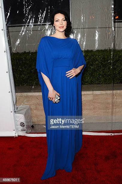 Actress Laura Prepon attends the 2013 amfAR Inspiration Gala Los Angeles at Milk Studios on December 12 2013 in Los Angeles California