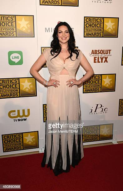 Actress Laura Prepon attends the 4th Annual Critics' Choice Television Awards at The Beverly Hilton Hotel on June 19 2014 in Beverly Hills California
