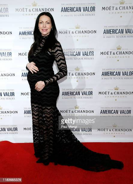 "Actress Laura Prepon attends the American Veterans Center's ""2019 American Valor: A Salute to Our Heroes"" Veterans Day Special at the Omni Shoreham..."