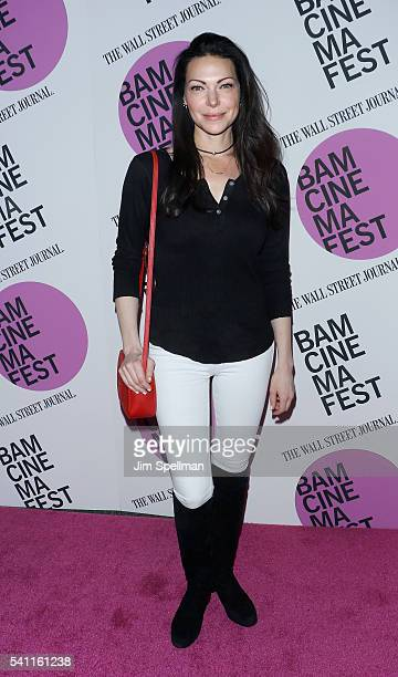 """Actress Laura Prepon attends the BAMcinemaFest 2016 - """"In A Valley Of Violence"""" premiere at BAM Harvey Theater on June 18, 2016 in New York City."""