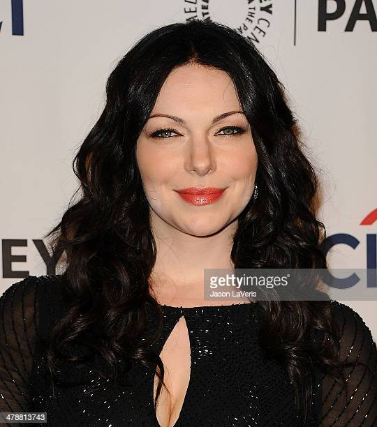 Actress Laura Prepon attends the 'Orange Is The New Black' event at the 2014 PaleyFest at Dolby Theatre on March 14 2014 in Hollywood California