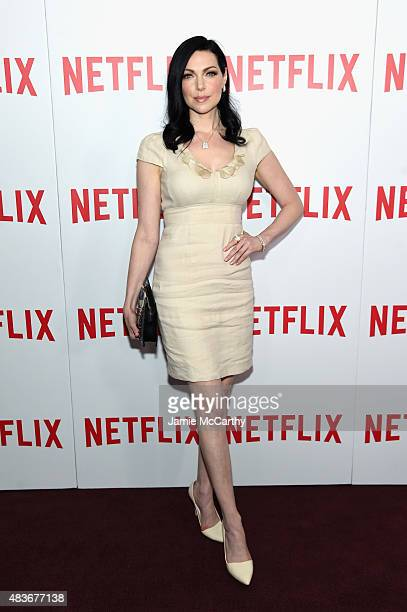 Actress Laura Prepon attends the 'Orange Is The New Black' FYC screening at DGA Theater on August 11 2015 in New York City