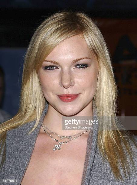 Actress Laura Prepon attends the premiere of VLAD at the Arclight Theater on September 8 2004 in Hollywood California