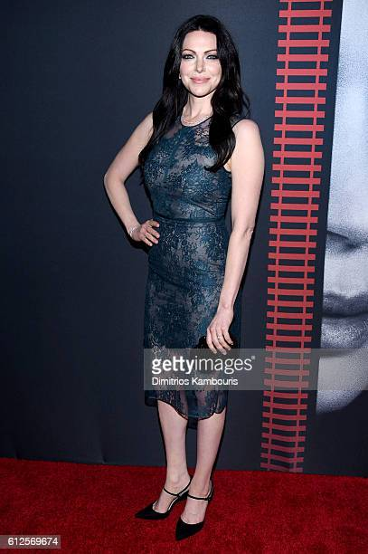 Actress Laura Prepon attends the The Girl On The Train New York Premiere at Regal EWalk Stadium 13 on October 4 2016 in New York City