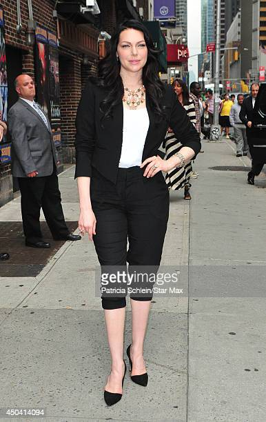 Actress Laura Prepon is seen on June 10 2014 in New York City