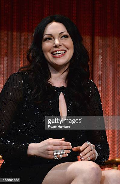 Actress Laura Prepon on stage at The Paley Center For Media's PaleyFest 2014 Honoring Orange Is The New Black at Dolby Theatre on March 14 2014 in...