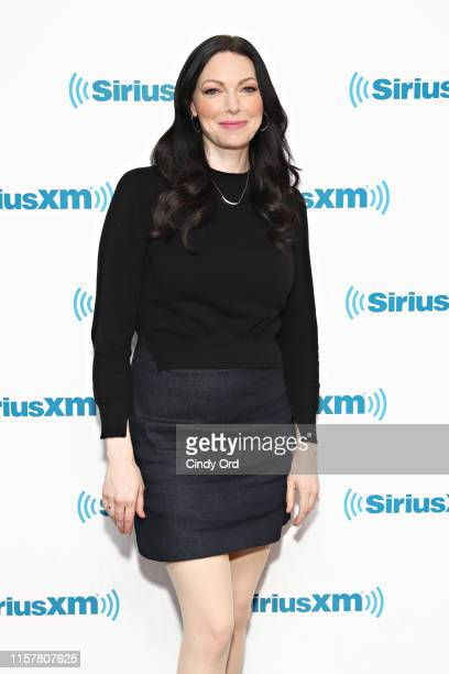 Actress Laura Prepon visits the SiriusXM studio on July 26 2019 in New York City