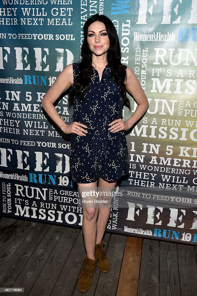 Actress Laura Prepron attends the Women's Health's 4th annual party under the stars for RUN10 FEED10 on August 1, 2015 in Bridgehampton, New York.