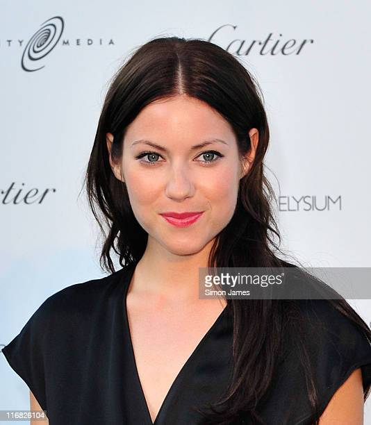 Actress Laura Ramsey arrives at The Art of Elysium's first annual PARADIS with Cartier held at Chateau de La Napoule on May 16, 2009 in Mandelieu La...