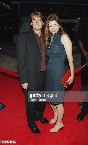 actress laura san giacomo and her husband  actor cameron