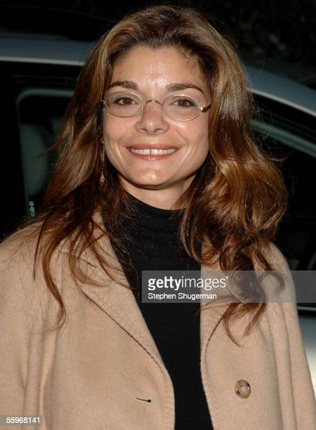 Actress Laura San Giacomo arrives at the 15th Annual Environmental Media Awards held at Ebell Club of Los Angeles on October 19 2005 in Los Angeles...