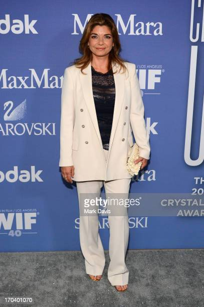 Actress Laura San Giacomo attends Women In Film's 2013 Crystal Lucy Awards at The Beverly Hilton Hotel on June 12 2013 in Beverly Hills California