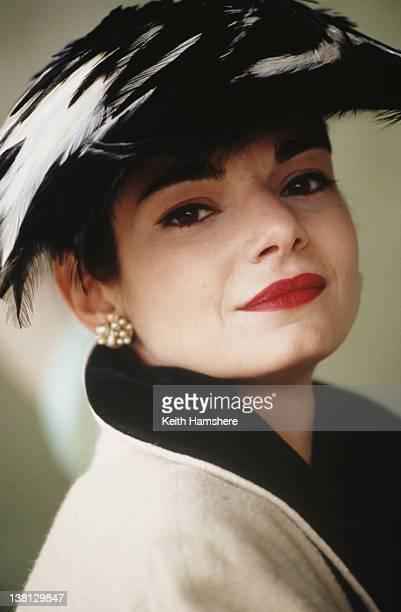 Actress Laura San Giacomo stars in the thriller 'Under Suspicion' 1991