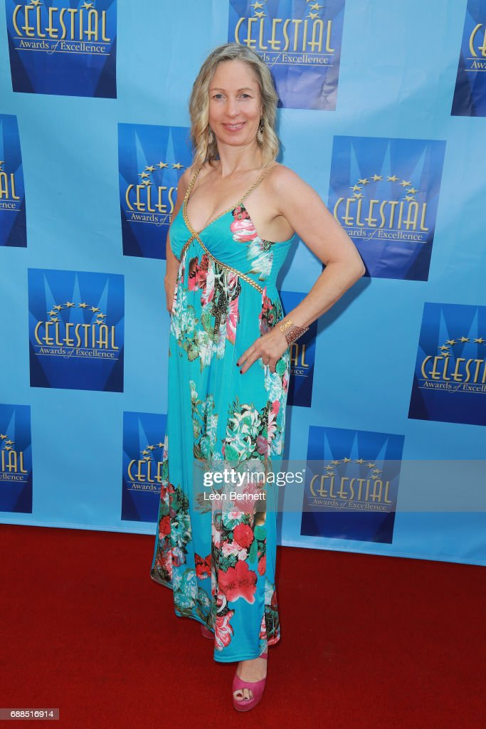 Actress Laura Sandra attends the Celestial Awards Of Excellence at Alex Theatre on May 25, 2017 in Glendale, California.