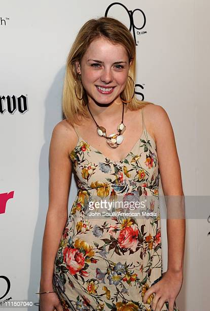 Actress Laura Slade Wiggins arrives at Star Magazine's All Hollywood Party at Trousdale on April 3 2011 in West Hollywood California