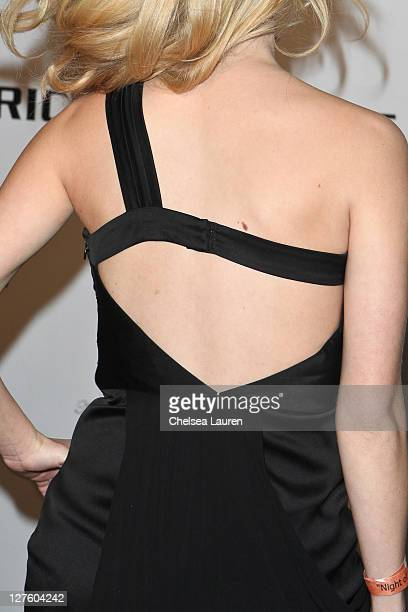 Actress Laura Slade Wiggins arrives at the 21st Annual Night of 100 Stars Awards Gala at Beverly Hills Hotel on February 27 2011 in Beverly Hills...