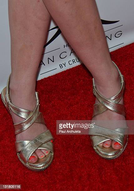 Actress Laura Slade Wiggins arrives at The Bash charity event benefiting Children's Hospitals at Elxr Lounge on May 14 2011 in Hollywood California