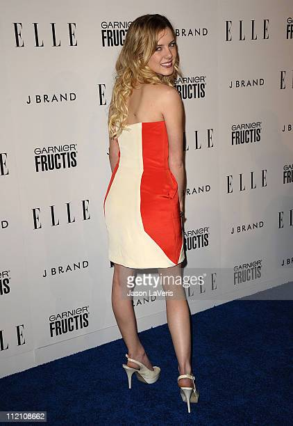 Actress Laura Slade Wiggins attends ELLE's 2nd annual Women in Music event at The Music Box @ Fonda on April 11 2011 in Hollywood California