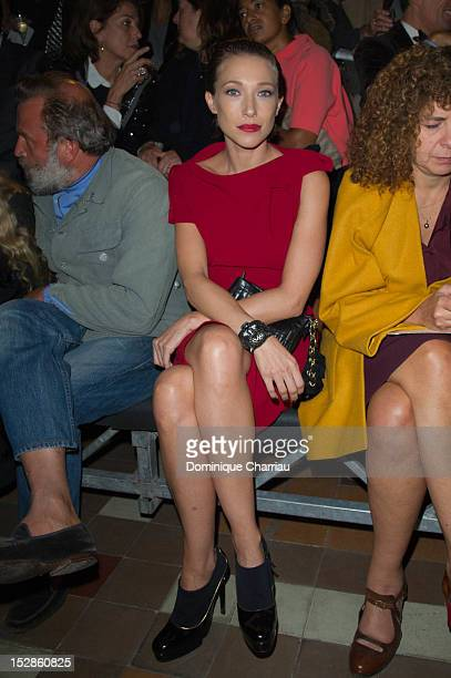 Actress Laura Smet attends the Lanvin Spring / Summer 2013 show as part of Paris Fashion Week at on September 27 2012 in Paris France