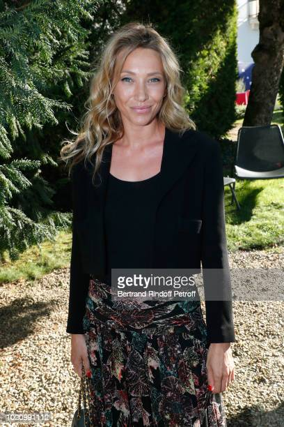 Actress Laura Smet dressed in chanel attends the 11th Angouleme FrenchSpeaking Film Festival Day One on August 21 2018 in Angouleme France