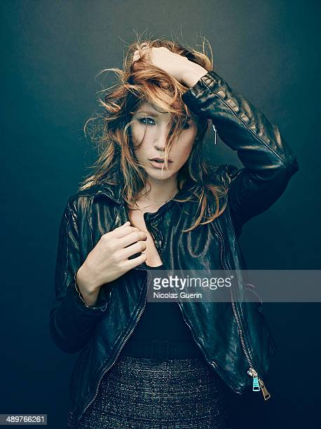 Actress Laura Smet is photographed for Self Assignment on April 7, 2014 in Paris, France.
