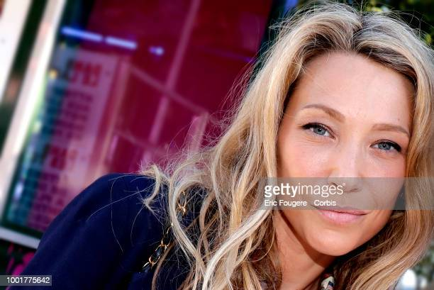 Actress Laura Smet poses during a portrait session in Paris France on
