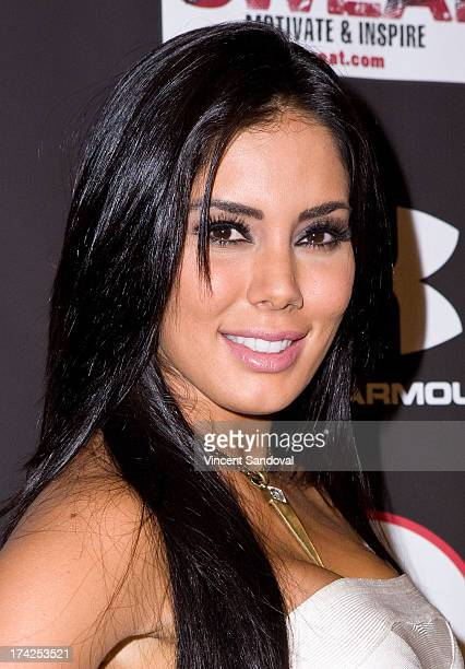 Actress Laura Soares attends Nelly Hosts An After Party To Celebrate The ESPYS at The Palm on July 17 2013 in Los Angeles California