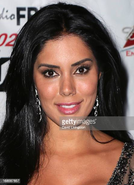 Actress Laura Soares attends Stevie Wonder's 63rd birthday celebration at the House of Music Entertainment on May 11 2013 in Beverly Hills California