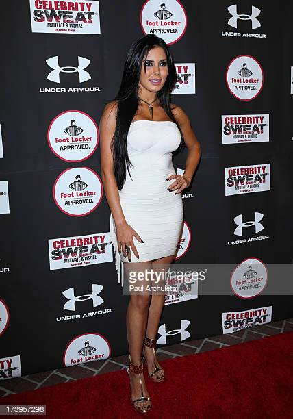 Actress Laura Soares attends the 2013 ESPYS after party on July 17 2013 in Los Angeles California