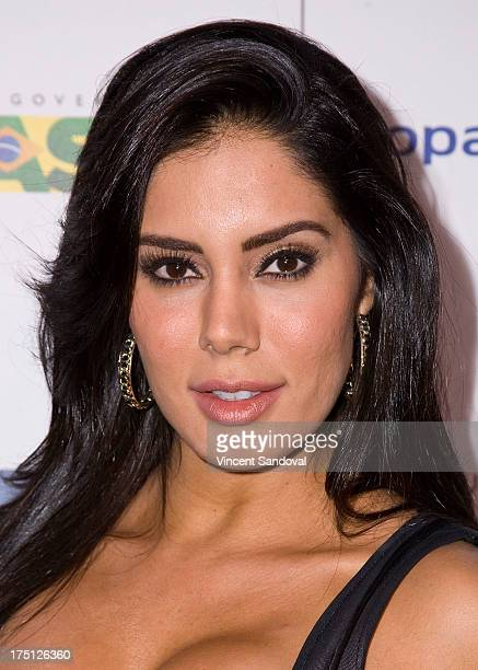 Actress Laura Soares attends the 5th annual Hollywood Brazilian Film Festival at the Egyptian Theatre on July 31 2013 in Hollywood California
