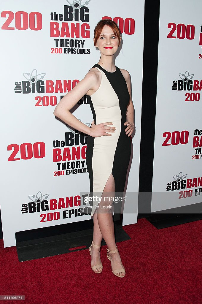 "CBS's ""The Big Bang Theory"" Celebrates 200th Episode - Arrivals"
