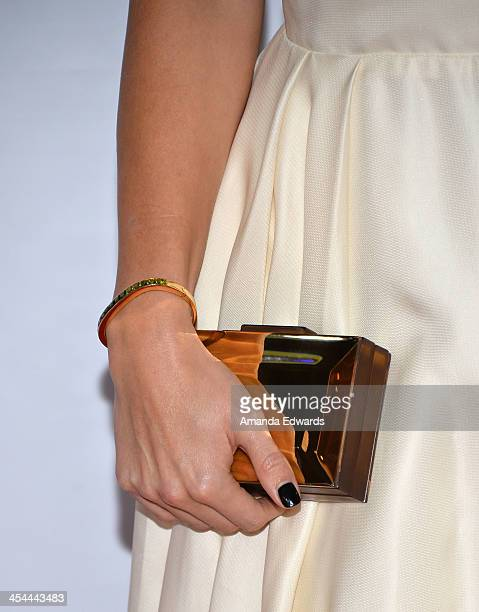 Actress Laura Vandervoort arrives at the TrevorLIVE Los Angeles Benefit celebrating The Trevor Project's 15th anniversary at the Hollywood Palladium...