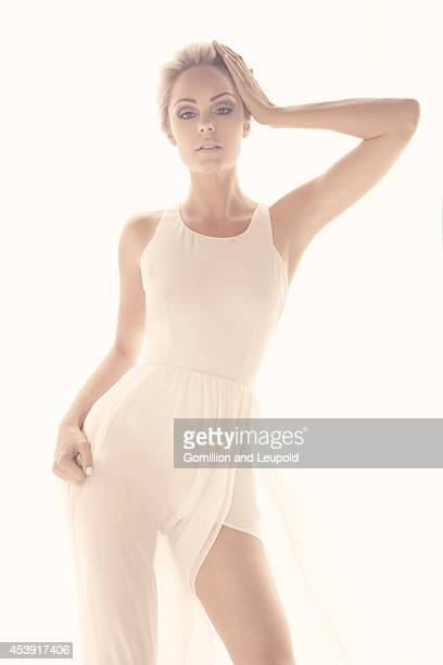 Actress Laura Vandervoort is photographed for Zink Magazine on April 20 2011 in Los Angeles California