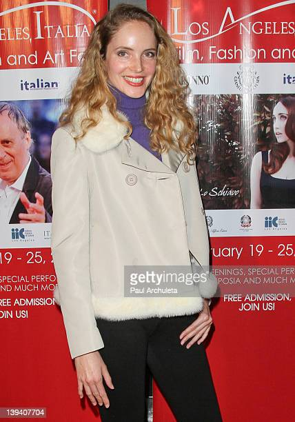 Actress Laura Weissbecker attends the 7th annual Los Angeles ItaliaFilm Fashion and Art Festival opening night at Mann Chinese 6 on February 19 2012...