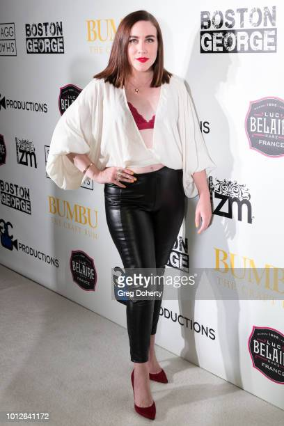 Actress LauraElise Barrett attends George Jung's Birthday Celebration And Screening Of Blow at TCL Chinese 6 Theatres on August 6 2018 in Hollywood...