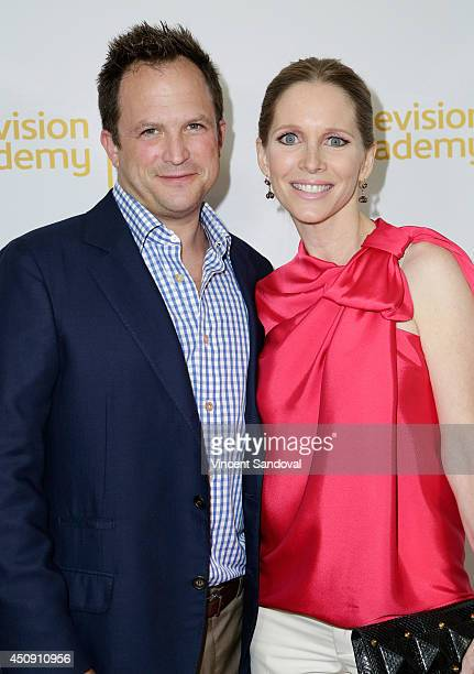 Actress Lauralee Bell and guest attend the Television Academy Daytime Emmy Nominee reception at The London West Hollywood on June 19 2014 in West...