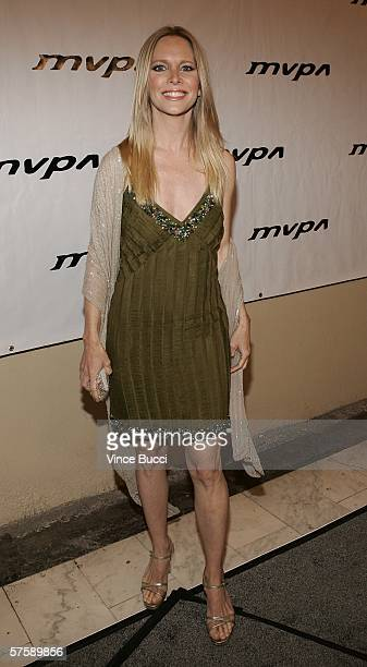 Actress Lauralee Bell attends the Music Video Production Association's 15th Annual MVPA Awards at the Orpheum Theatre on May 11 2006 in Los Angeles...