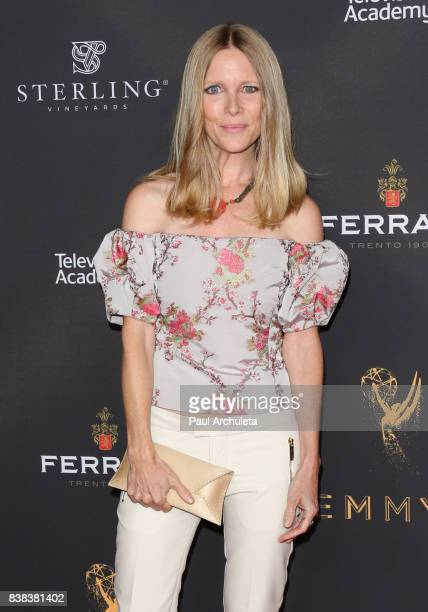 Actress Lauralee BellMartin attends the Television Academy's cocktail reception with the Stars of Daytime Television celebrating The 69th Emmy Awards...