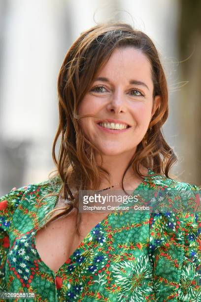 "Actress Laure Calamy attends the ""Antoinette Dans Les Cevennes"" Photocall at 13th Angouleme French-Speaking Film Festival on August 29, 2020 in..."