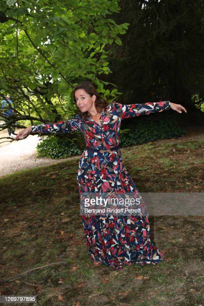 "Actress Laure Calamy attends the ""Garcon Chiffon"" Photocall at 13th Angouleme French-Speaking Film Festival on August 30, 2020 in Angouleme, France."