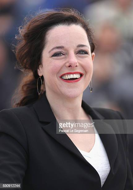 "Actress Laure Calamy attends the ""Staying Vertical "" photocall during the 69th annual Cannes Film Festival at the Palais des Festivals on May 12,..."