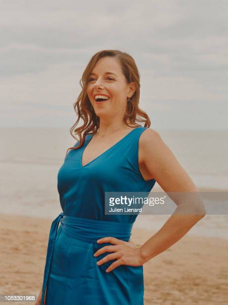 Actress Laure Calamy is photographed for Self Assignment, on June, 2018 in Cabourg, France. . .