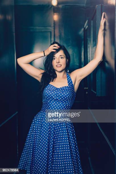 Actress Laure Calamy is photographed for self assignment on September 3 2016 in Paris France
