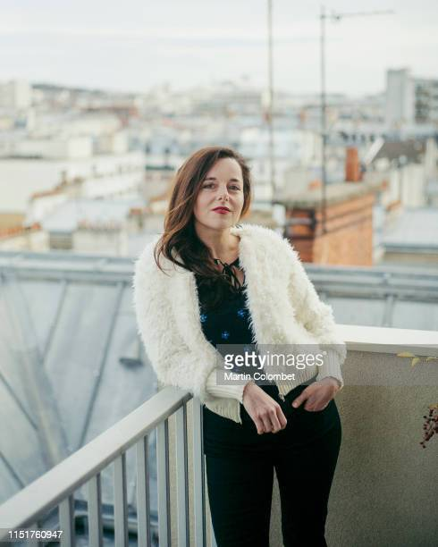 Actress Laure Calamy poses for a portrait on January, 2018 in Paris, France.