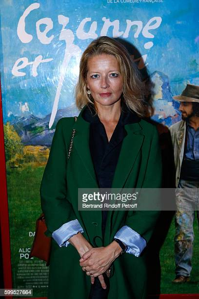 Actress Laure Marsac attends the 'Cezanne et Moi' Premiere on September 5 2016 in Paris France