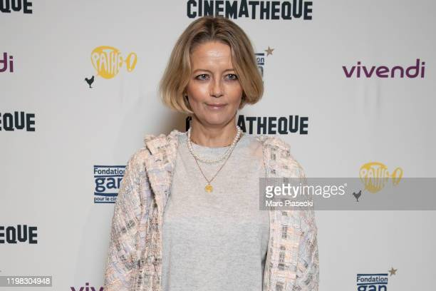 Actress Laure Marsac attends the Jean-Luc Godard's Retrospective at La Cinematheque on January 08, 2020 in Paris, France.