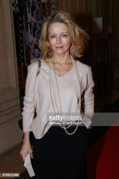 Actress Laure Marsac attends the Tribute to JeanClaude Brialy for the 10th anniversary of his death Held at Centre National du Cinema et de l'Image...